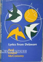 LYRICS FROM DELAWARE: McConomy, Paul Leland