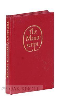 MANUSCRIPT. THE: Singer, Isaac Bashevis