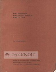 BIBLIOGRAFIA BIBLIOTECOLOGICA ARGENTINA: Matjevic, Nicolas