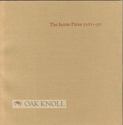 JANUS PRESS 1981-90. THE: Fine, Ruth E.