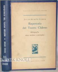 REPERTORIO DEL TEATRO CHILENO: Durán Cerda, Julio