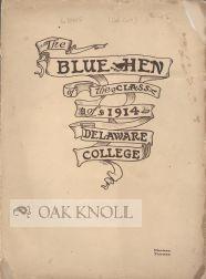 BLUE HEN, CLASS OF 1914.|THE