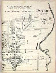 TRICENTENNIAL VIEW OF DOVER, 1683-1983.|A