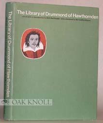 LIBRARY OF DRUMMOND OF HAWTHORNDEN.|THE: Macdonald, Robert H.