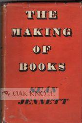 MAKING OF BOOKS.|THE: Jennett, Sean