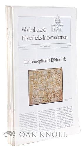WOLFENBUTTELER BIBLIOTHEKS-INFORMATIONEN