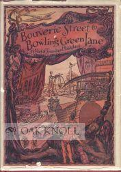 BOUVERIE STREET TO BOWLING GREEN LANE, FIFTY-FIVE YEARS OF SPECIALIZED PUBLISHING: Armstrong, ...