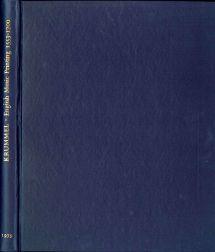 ENGLISH MUSIC PRINTING, 1553-1700: Krummel, D.W.