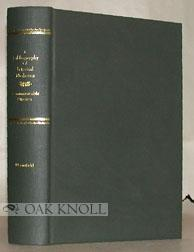 BIBLIOGRAPHY OF INTERNAL MEDICINE; COMMUNICABLE DISEASES: Bloomfield, Arthur