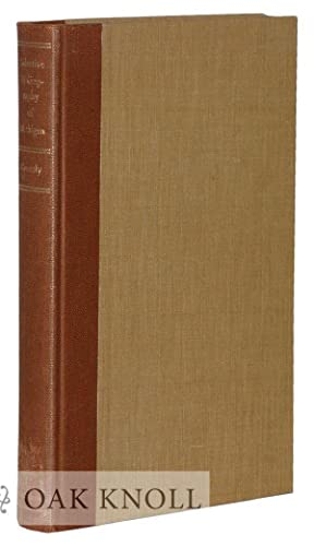 SELECTIVE BIBLIOGRAPHY OF IMPORTANT BOOKS PAMPHLETS AND: Greenly, Albert Harry