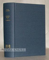 BIBLIOTHECA MAGICA ET PNEUMATICA, GEHEIME WISSENSCHAFTEN, SCIENCES OC: Rosenthal, Jacques