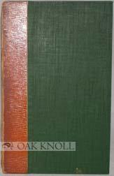 "SHORT ACCOUNT OF TINDALE'S PENTATEUCH, ""MARBURG"" 1530.|A: Duff, E. Gordon"