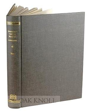 SEVENTEENTH CENTURY MARYLAND, A BIBLIOGRAPHY: Baer, Elizabeth