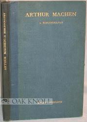 ARTHUR MACHEN, A BIBLIOGRAPHY: Danielson, Henry