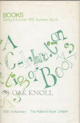 CELEBRATION OF BOOKS, A JUBILEE EDITION OF BOOKS . TO COMMEMORATE TH E 50TH ANNIVERSARY OF THE ...