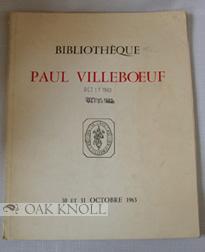 BIBLIOTHÈQUE PAUL VILLEBOEUF: Lefèvre, Lucien and Claude Guérin