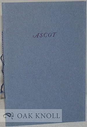 ASCOT: Newton, A. Edward