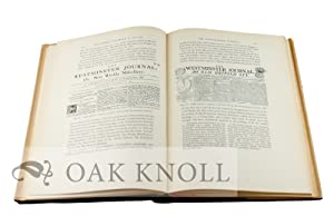 ENGLISH NEWSPAPER, SOME ACCOUNT OF THE PHYSICAL DEVELOPMENT OF JOURNALS PRINTED IN LONDON BETWEEN ...