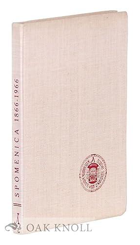 SPOMENICA. JUGOSLAVENSKA AKADEMIJA ZNANOSTI I UMJETNOSTI 1866-1966