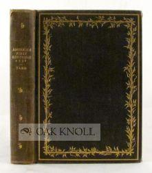 AMERICAN FIRST EDITIONS AND THEIR PRICES, 1931 A CHECKLIST OF THE FOREMOST AMERICAN FIRST EIDITONS ...