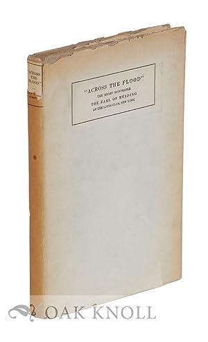 "ACROSS THE FLOOD"".|"": Earl of Reading"