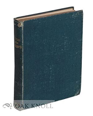 NOTES FROM SOTHEBY'S, BEING A COMPILATION OF 2,032 NOTES FROM CATALOGUES OF BOOK-SALES WHICH ...