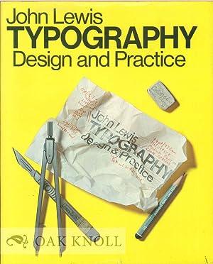 TYPOGRAPHY: DESIGN AND PRACTICE: Lewis, John
