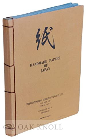 HANDMADE PAPERS OF JAPAN