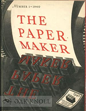 PAPER MAKER.|THE