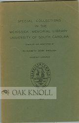 RARE BOOKS IN THE MCKISSICK LIBRARY: English, Elisabeth D. (compiler)
