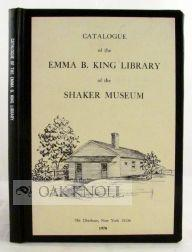 CATALOGUE OF THE EMMA B. KING LIBRARY: Meader, Robert F.W.