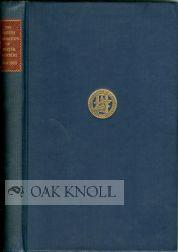 BRITISH FEDERATION OF MASTER PRINTERS, 1900-1950.|THE: Howe, Ellic