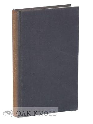 A.E. HOUSMAN, SELECTED PROSE