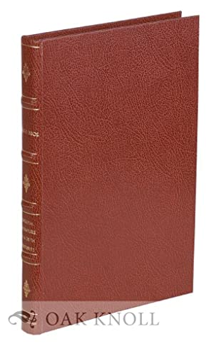 ENGLISH LITERATURE OF THE 19TH & 20TH CENTURIES BEING A SELECTION OF FIRST AND EARLY EDITIONS. ...