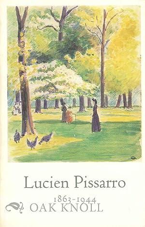 LUCIEN PISSARRO 1863-1944: D'Offay, Anthony