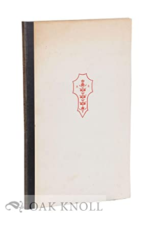 REPORT ON THE TYPOGRAPHY OF THE CAMBRIDGE UNIVERSITY PRESS PREPARED IN 1917 AT THE REQUEST OF THE ...