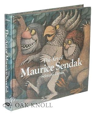 ART OF MAURICE SENDAK.|THE: Lanes, Selma G.
