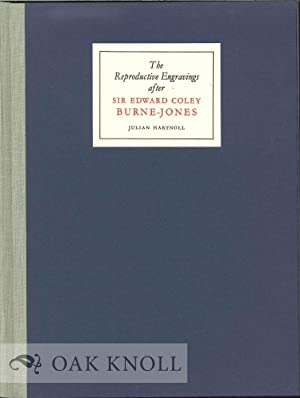REPRODUCTIVE ENGRAVINGS AFTER SIR EDWARD COLEY BURNE-JONES.|THE: Christian, John (editor)