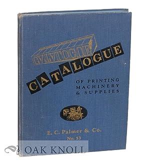 CATALOGUE OF PRINTING MACHINERY & SUPPLIES NO.53: Western