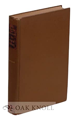TREATISE ON TITLE-PAGES, WITH NUMEROUS ILLUSTRATIONS IN FACSIMILE AND SOME OBSERVATIONS ON THE ...