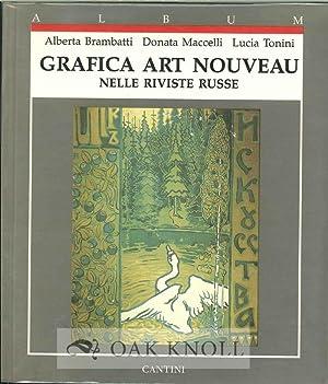 GRAFICA ART NOUVEAU NELLE RIVISTE RUSSE: Brambatti, Alberta, Donata