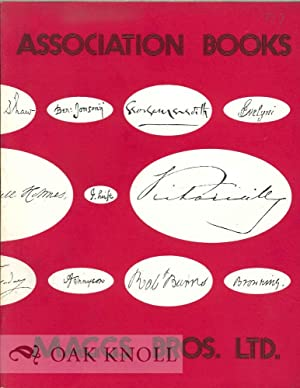 ASSOCIATION BOOKS: A CATALOGUE OF BOOKS FROM FAMOUS LIBRARIES