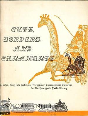 CUTS, BORDERS, AND ORNAMENTS