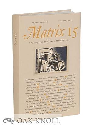 MATRIX 15