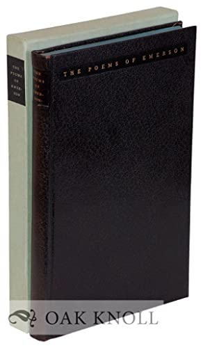 POEMS OF RALPH WALDO EMERSON.|THE: Emerson, Ralph Waldo