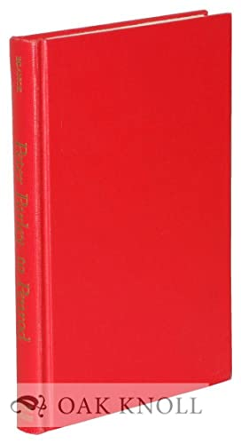 PETER PARLEY TO PENROD A BIBLIOGRAPHICAL DESCRIPTION: Blanck, Jacob