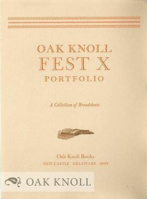 OAK KNOLL FEST X PORTFOLIO