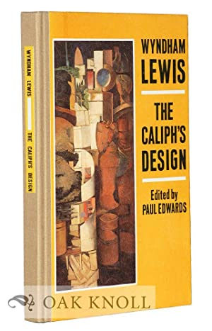 CALIPH'S DESIGN: ARCHITECTS! WHERE IS YOUR VORTEX?.|THE: Lewis, Wyndham