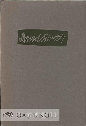 DAVID SMITH ON ART AND TRADITION: Smith, David