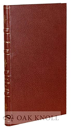FRENCH LITERATURE AND PRINTING, XIVTH TO XXTH CENTURY, ARMORIAL BINDINGS: 768